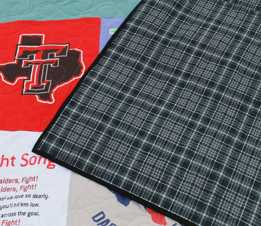 Texas Tech T-Shirt Quilt by Katie Mae Quilts