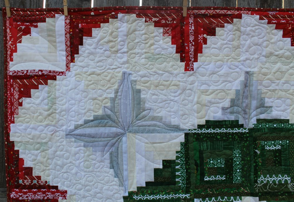 curved log cabin quilt — Blog — Katie Mae Quilts