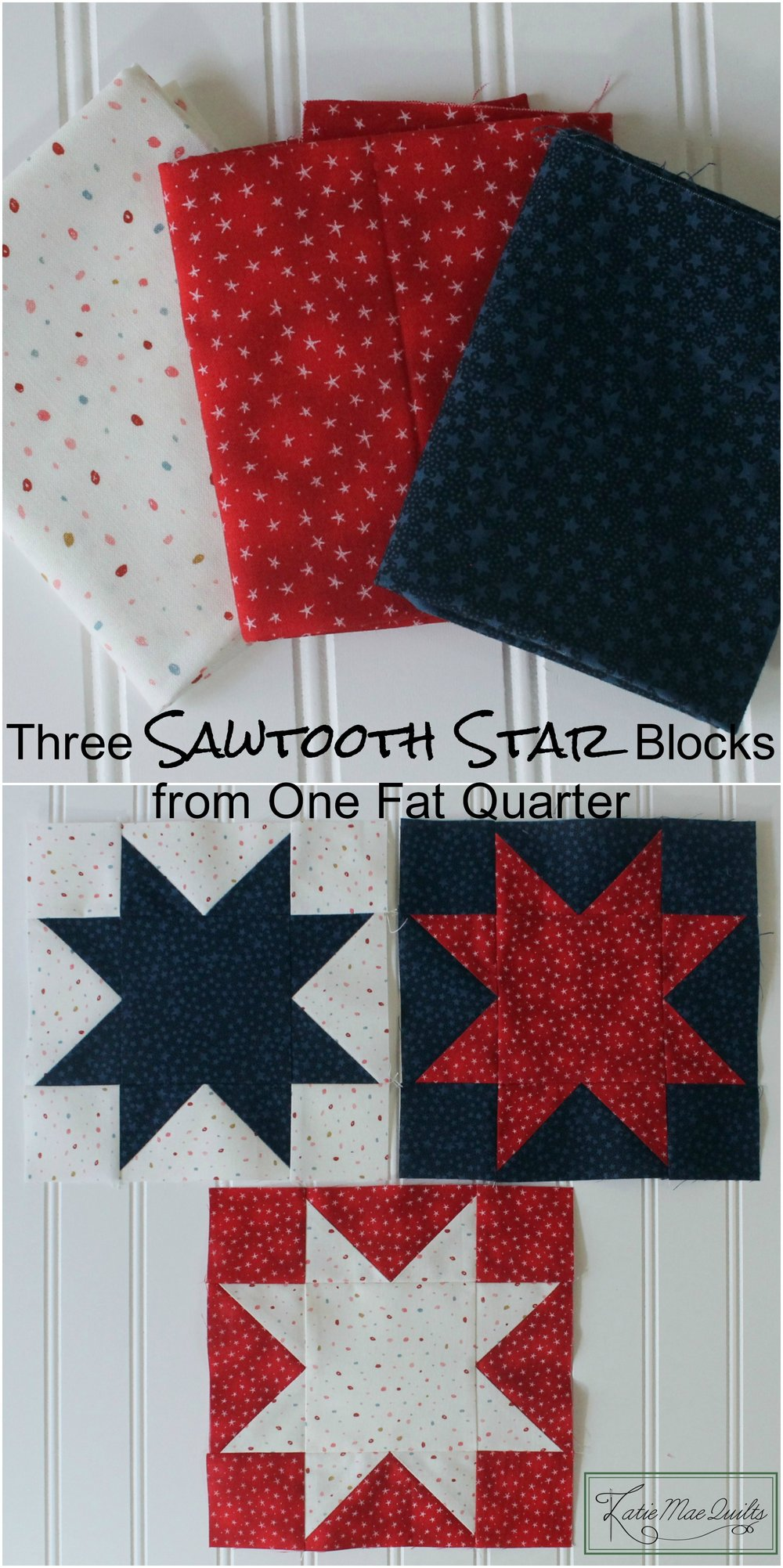 sawtooth star block tutorial