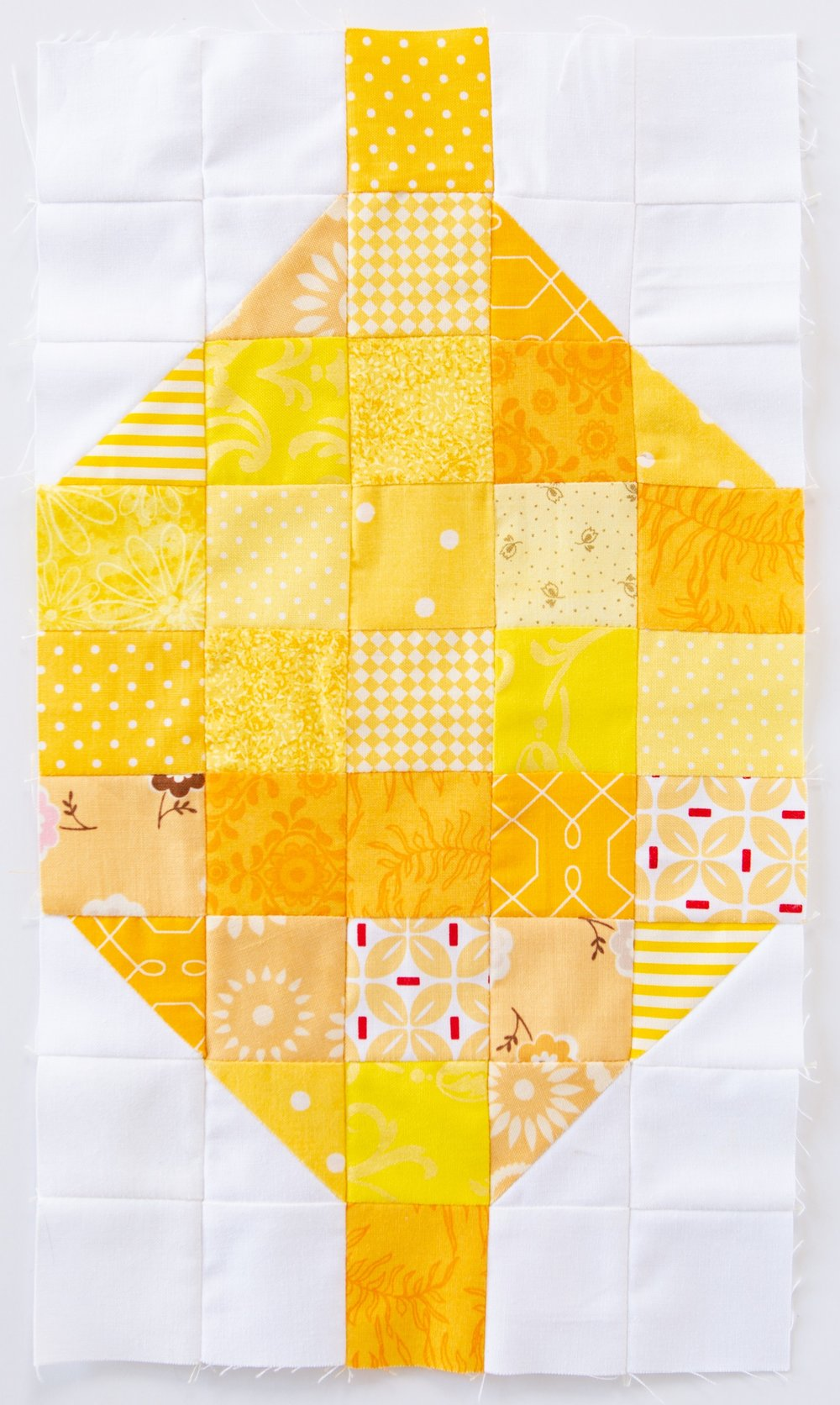 When Life Gives You Lemons Quilt Block