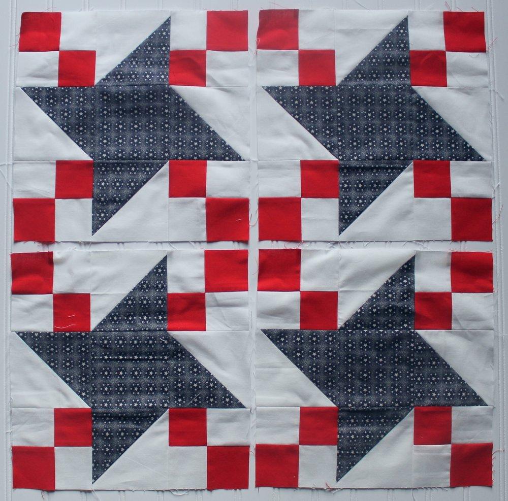 Friendship Chain Quilt Blocks by Katie Mae Quilts