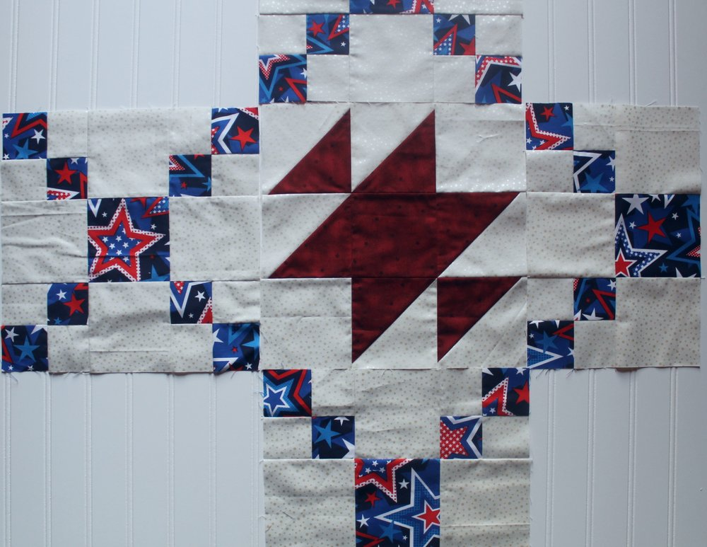 SWOKQG block of the month by Katie Mae Quilts