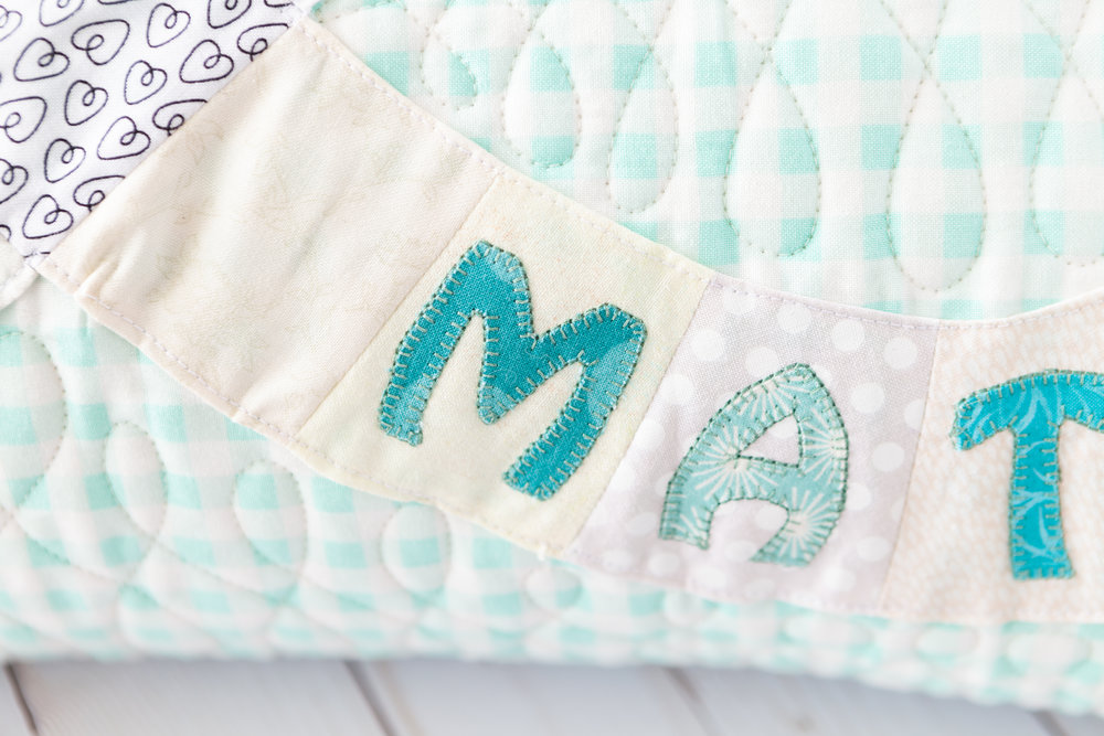 Soul Mate Pillow by Katie Mae Quilts