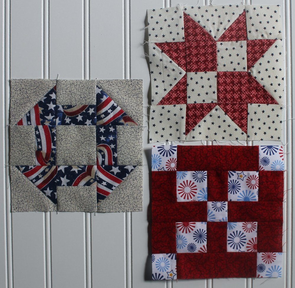 Quilts of Valor Sampler by Katie Mae Quilts