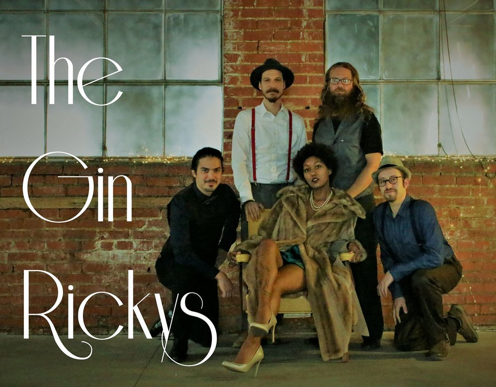 The Gin Rickys - Blues & Swing Music