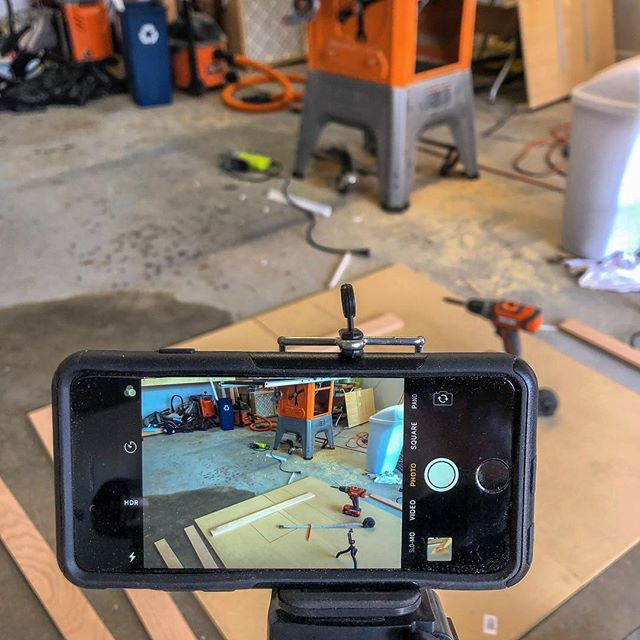 Beautiful Easter Sunday here in #Atlanta. Despite the fact the everything around here is pollened to a yellow haze (yes, I just made pollened a word), the breeze is great, the shop doors are open, and the sun is shining. What's your Easter Sunday weather like? #happyeaster #sundayfunday #workshop #contentcreator #woodworking #teamridgid #youtubechannel
