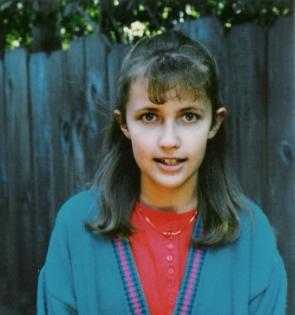 Liz as a child