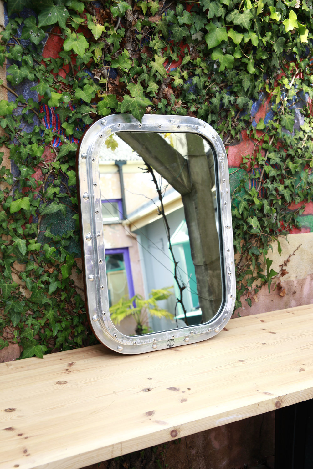 Salvaged Tanker Mirror