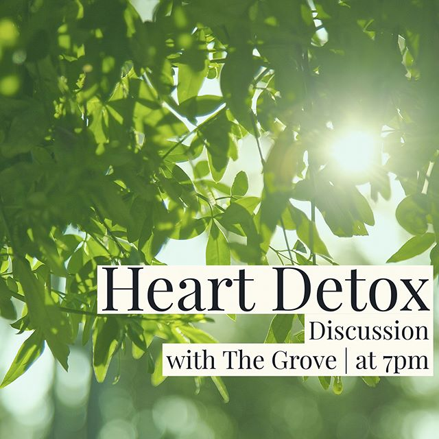 Join us as we gather together to discuss the series that has been challenging our hearts. Tomorrow at 7pm! See you there!  #thegrove #bettertogether #communitygroups #centerpointchurch #valrico #florida #church #community #heartdetox