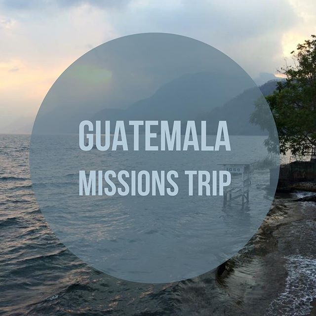 Summer 2017 is already looking up for The Grove. We are preparing for our very first missions trip to Guatemala 🇬🇹!! This Sunday we will be having our first Team Building gathering. If you are interested in coming to Guatemala, feel free to attend! It all begins this Sunday at 7pm! #bettertogether #ccthegrove #Missions #Guatemala