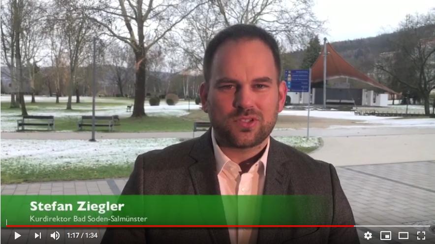 Stefan Ziegler, Kurdirektor von Bad Soden-Salmünster.