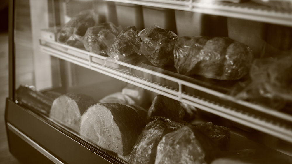 Local Hero Butchery Fare - Grass fed beef, bison, pork, lamb, chicken and rabbit. Your neighborhood butcher shoppe.