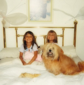 Allyson, Leah, and Buffy - Circa 1986