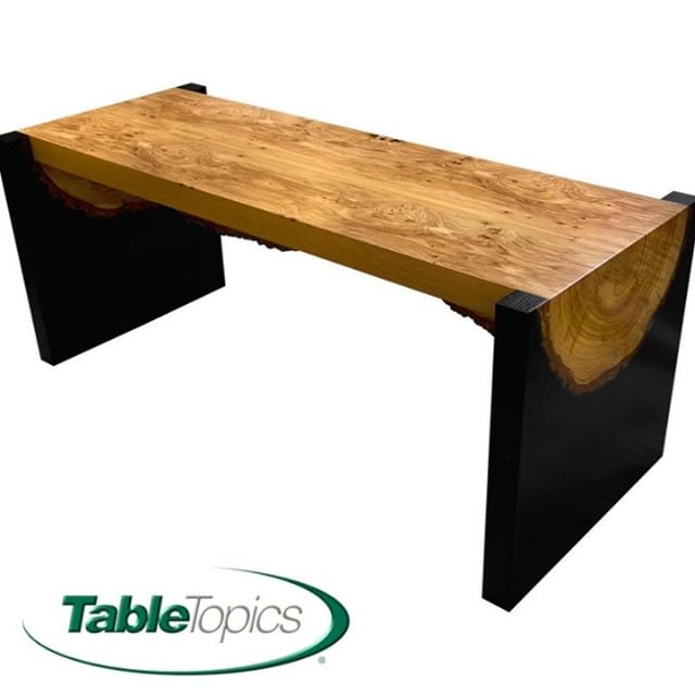 Table Topics utilizes sustainably harvested wood to create that rustic style in a way that's nearly identical to reclaimed wood. ⠀⠀⠀⠀⠀⠀⠀⠀⠀ #communaltables #contractdesign #hospitalitydesign #hospitality #design #designinspiration #interiordesign #customtables #ladesign #losangeles #lasvegas #restaurantdesign #lasvegasdesign #tabletopics