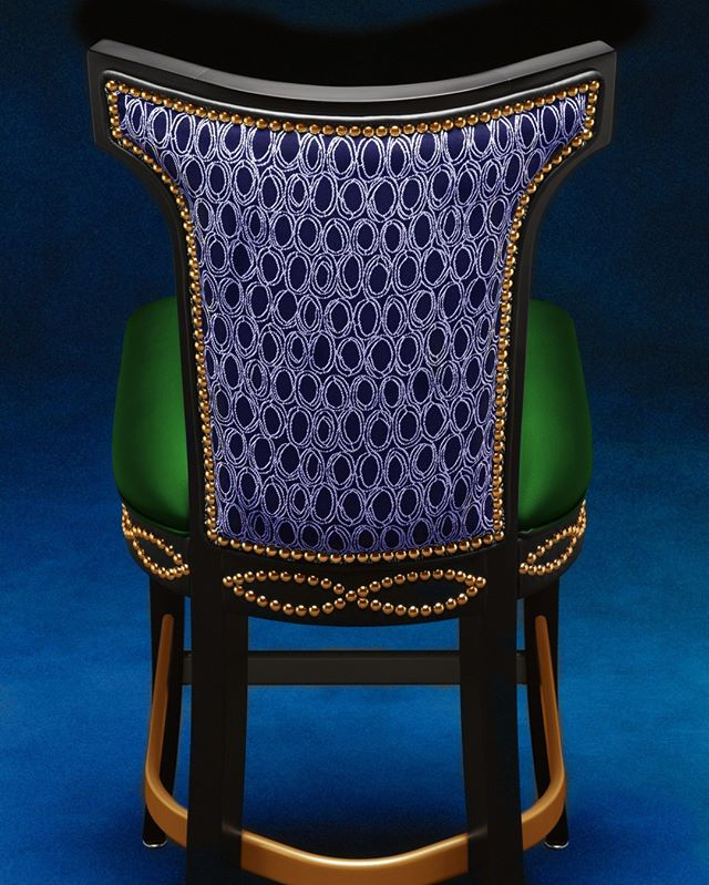 Check out the detail on this stunning Marco series chair from @gasserchaircompany and envision the design opportunities for your restaurant or gaming area. ⠀⠀⠀⠀⠀⠀⠀⠀⠀ #casinoseating #casinodesign #design #designinspiration #interiordesign #lasvegasdesign #vegas #gamingstools #gamingchairs