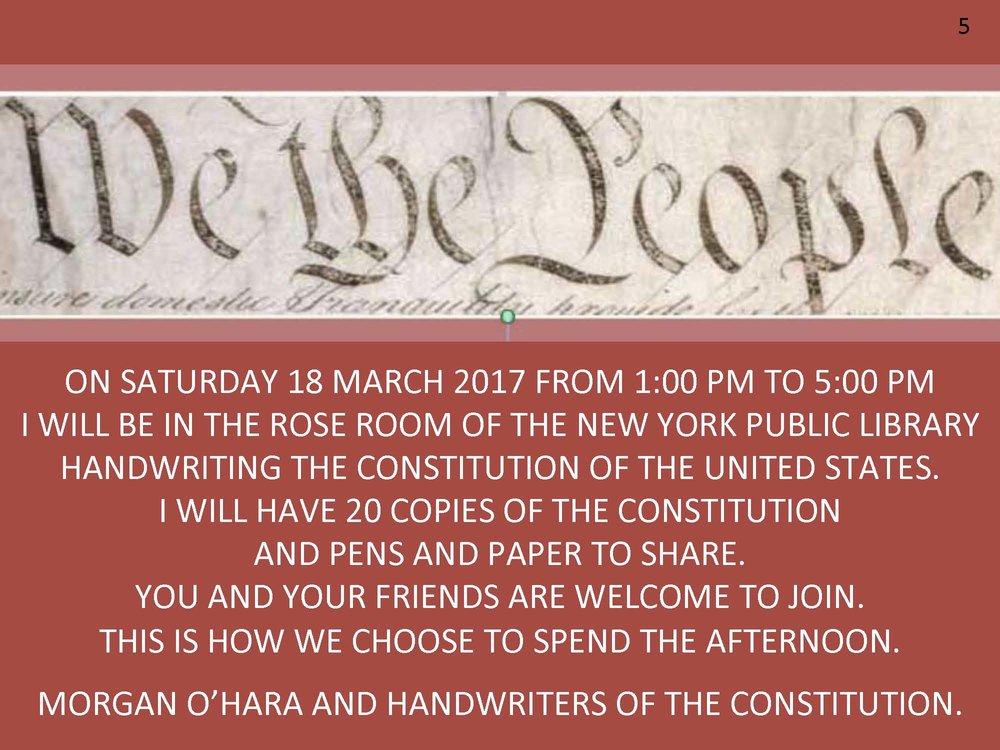 18 march 2017New York city - with morgan o'hara
