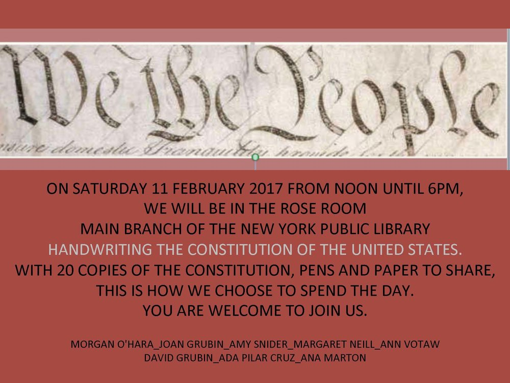11 february 2017new york city - with morgan o'hara