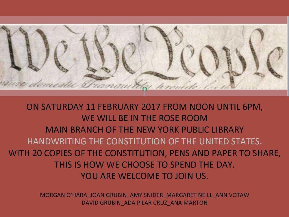 11 february 2017new york city - with morgan o'hara