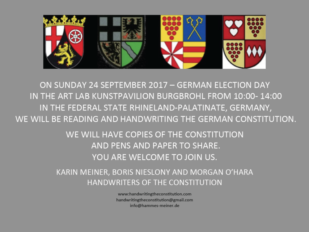 24 SEPTEMBER 2017 BURGBROHL, GERMANY