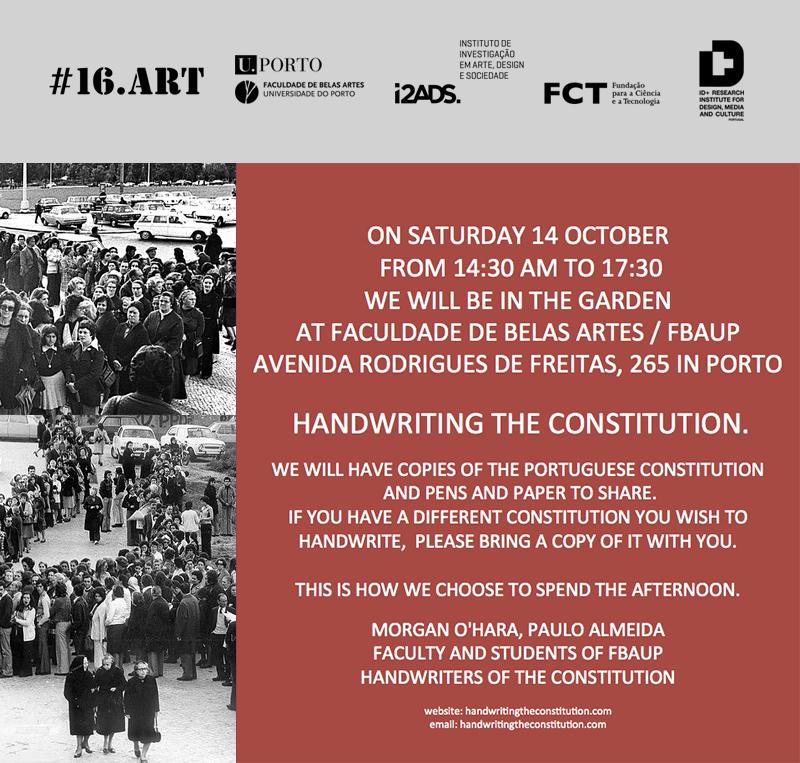 #33 ___ 14 OCTOBER 2017 PORTO, PORTUGAL
