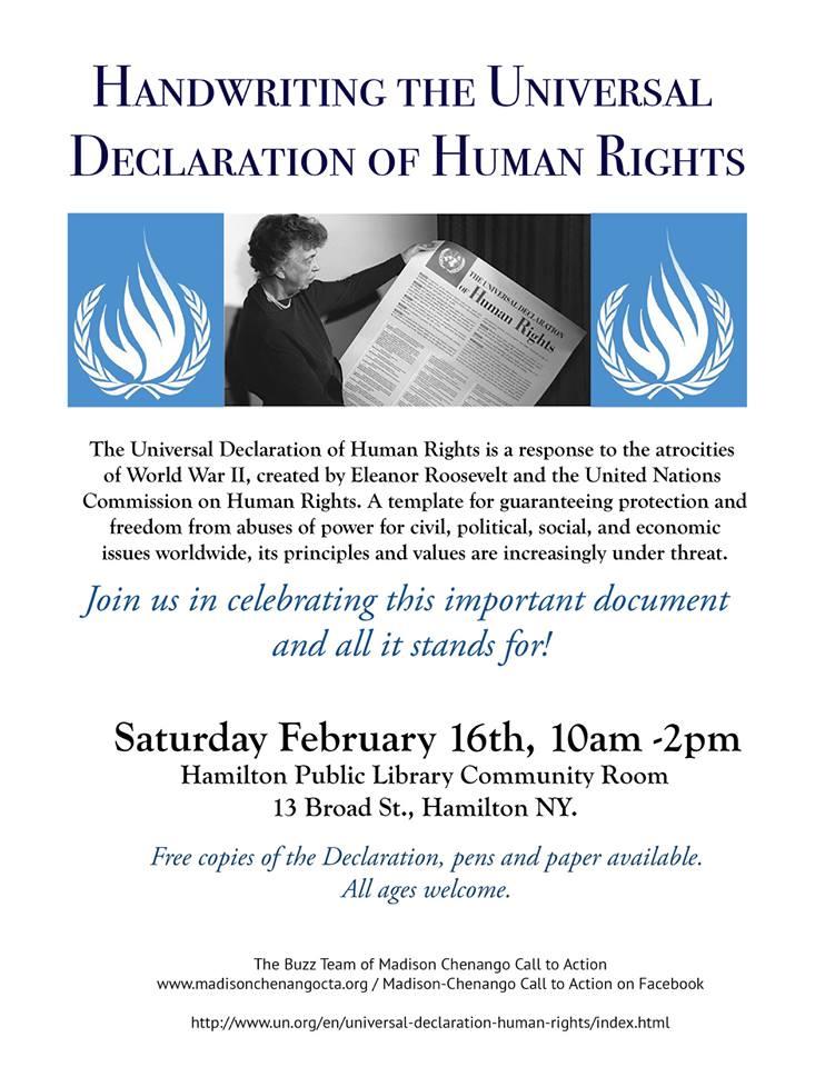 16 FEBRUARY 2019Hamilton, NY - session 89 collaborators John Bailey and THe buzz team of madison chenango call to action