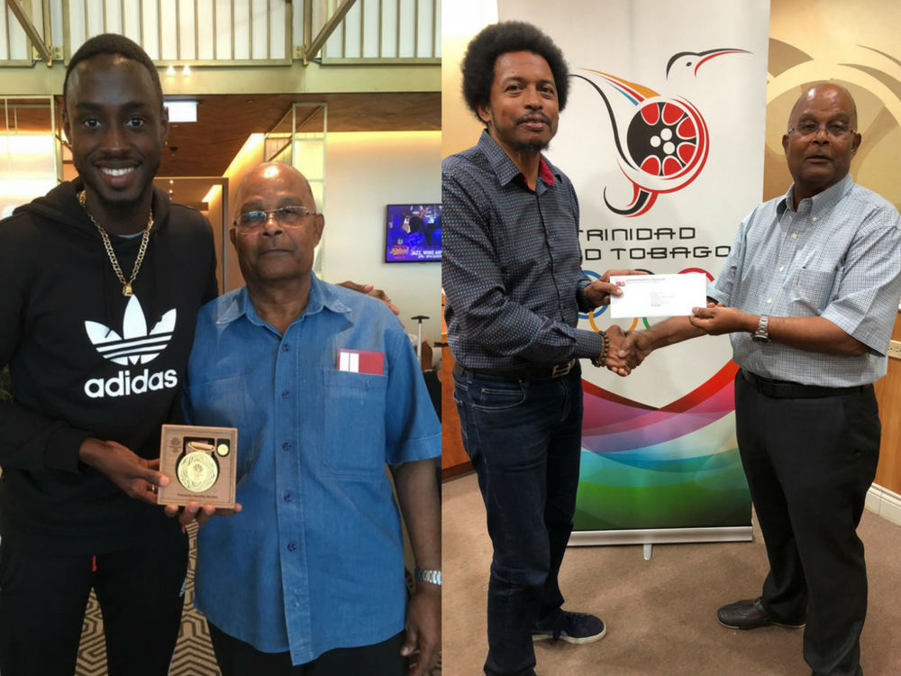 Supporting our Athletes - Trinidad and Tobago Olympic Committee's (TTOC's)#10gold24 athlete welfare and preparation fund yesterday (Wednesday May 16th) benefited from an injection  from an injection of $10,000.00 courtesy the Kenson Group of Companies. Click here to read more.