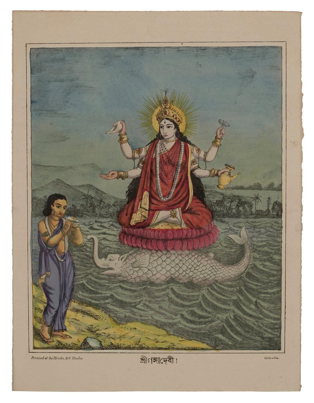 Sri Ganga Devi, c. 1880