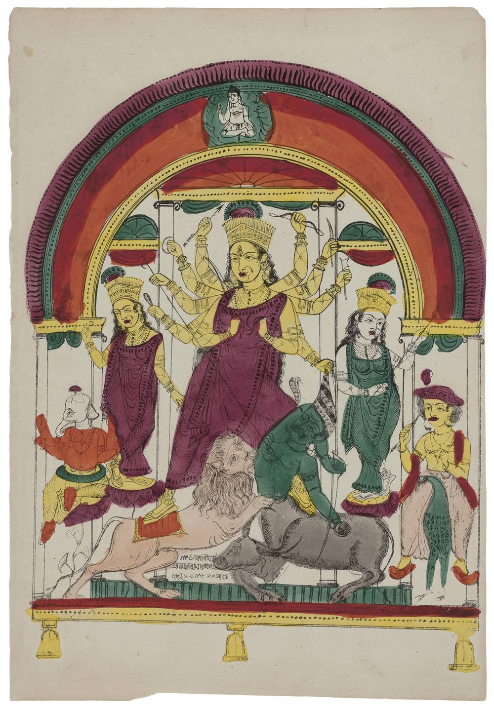 Durga, 1857