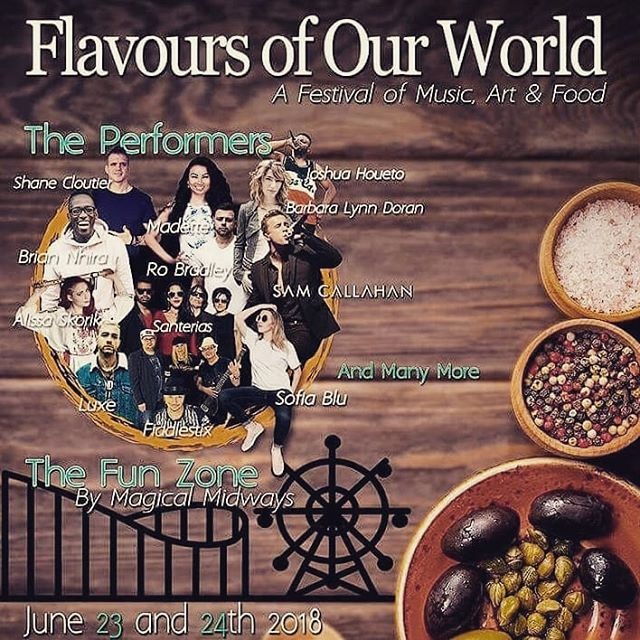 Hey guys! Rain or shine, come check us out at Woodbridge Fairgrounds in collaboration with @flavoursofourworld. Where fun, surprises and guest appearances awaits you! . #FoodTruckToronto #Cuisines #416NeverStops #FoodLife #Foodie #HypeBeast #Boba #BobaLife #BubbleTea #Toronto #FOOW