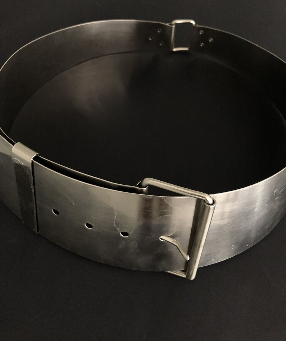 Metal Couture Belt, ca. 1970
