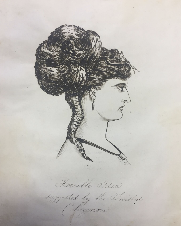Hideous Hairdos, 1868