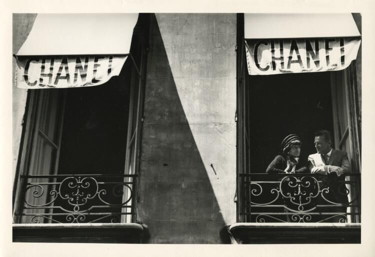 On the Chanel Balcony, 1969