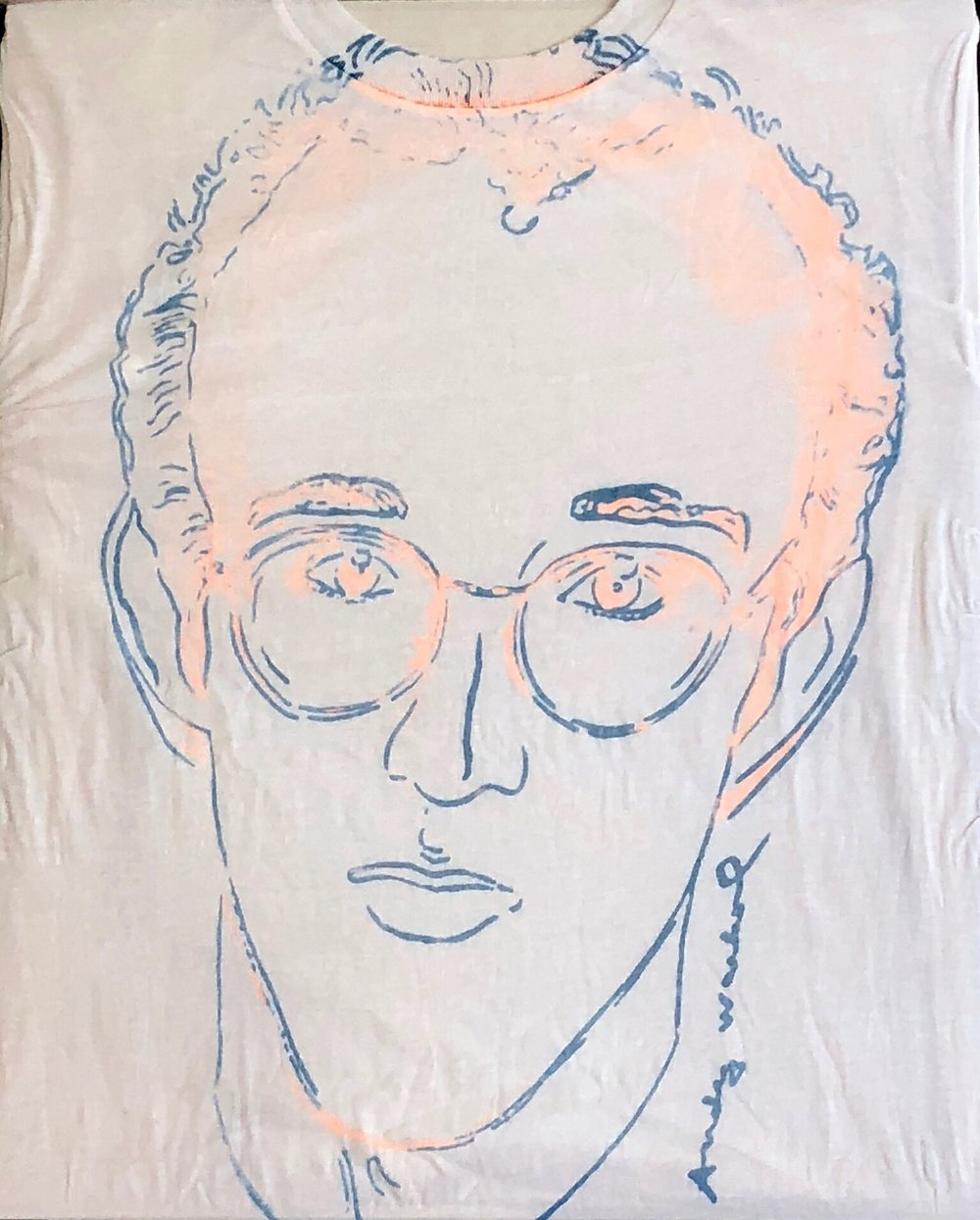 Keith Haring Screenprint on T-Shirt, ca. 1986