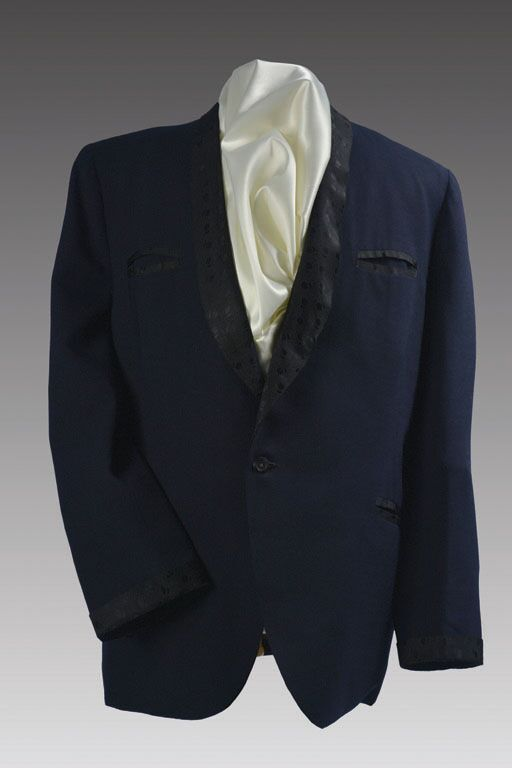 Duke Ellington's Navy Blue Mohair Tuxedo