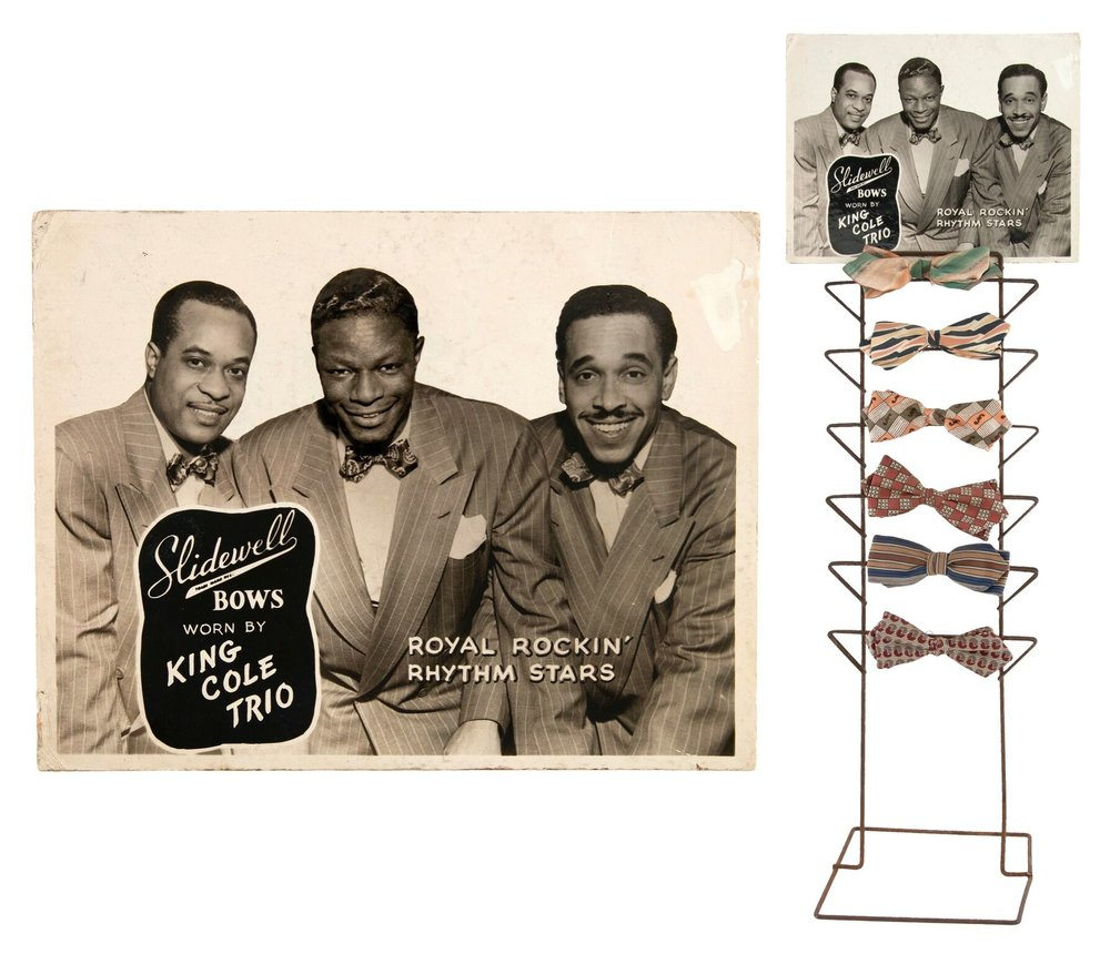 King Cole Trio Bowtie Display