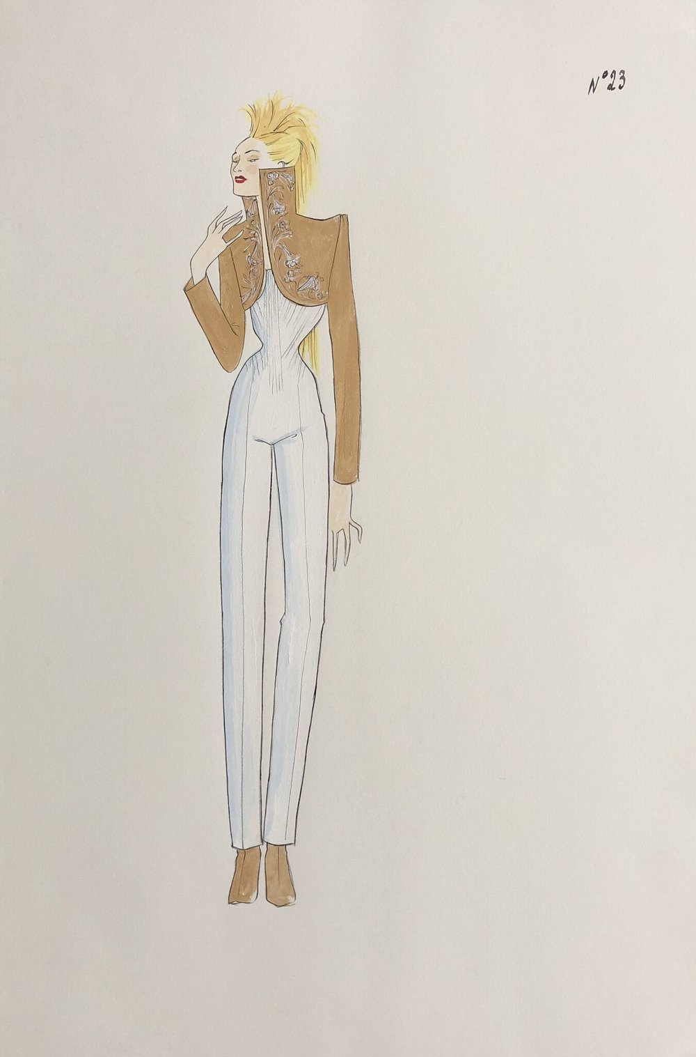 'In Search of the Golden Fleece' #23 - For his First Givenchy Haute Couture Collection, S/S 1997