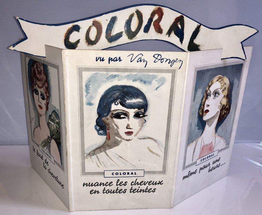 Coloral vu par Van Dongen, ca. 1930