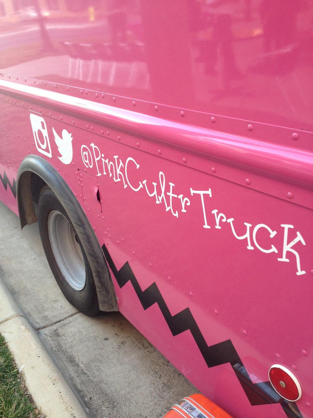 Pink Culture Truck