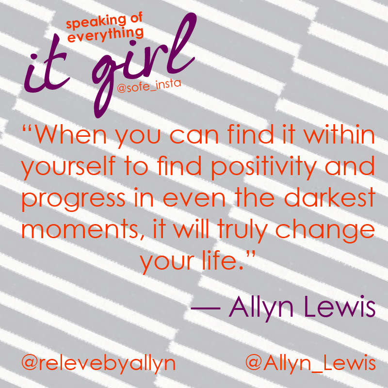 It Girl Allyn Quote 1