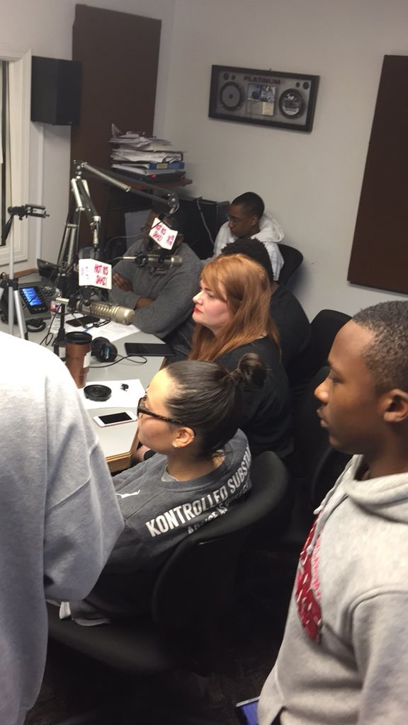 Photo taken from local Kansas City radio segment from Hot 103 Jamz discussing my recent time out in Capitol Hill defending net neutrality policy for entrepreneurs across the US.