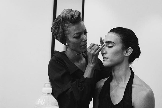 """Great dancers are not great because of their technique, they are great because of their passion - @therealmarthagraham 👩‍🎨 @houseofcora 💃 @marlaphelan  #makeup #makeupartist #artist #stylist #studio #filmstudio #photostudio #filmshoot #photoshoot #brooklyn #dance #dancemovie #film #producer #dancer #greenroom #bts"