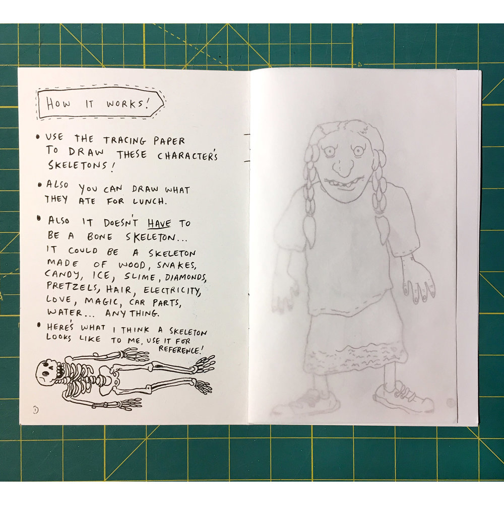 Way Out Kit Of Visionary Sketchbook Games By The Providence Comics Snake Skeleton Diagram Labeled Consortium Tiny Showcase