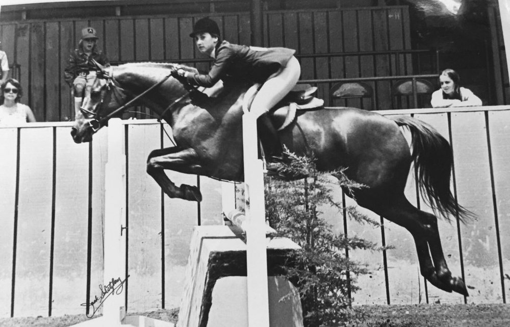 Riding Novelty at Monterey, 1978