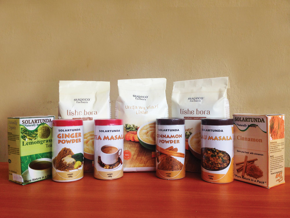 From spices to flour, the choice is yours