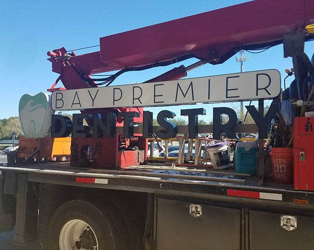 Look what finally arrived!! #baypremierdentistry #tampabay