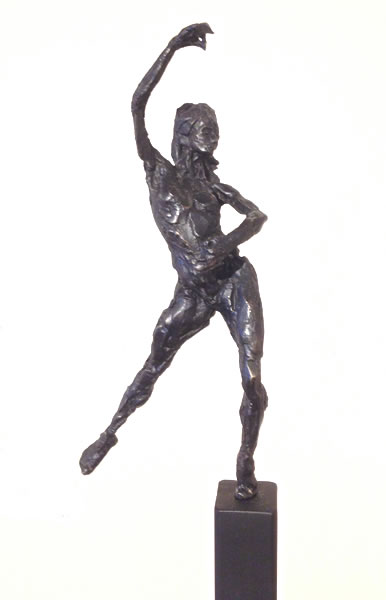 """Peace"" part of ""Dance In Silence Collection"" (19 Bronze Studies) Bronze Sculpture (Edition of 10) by Jeffrey Zygmunt"