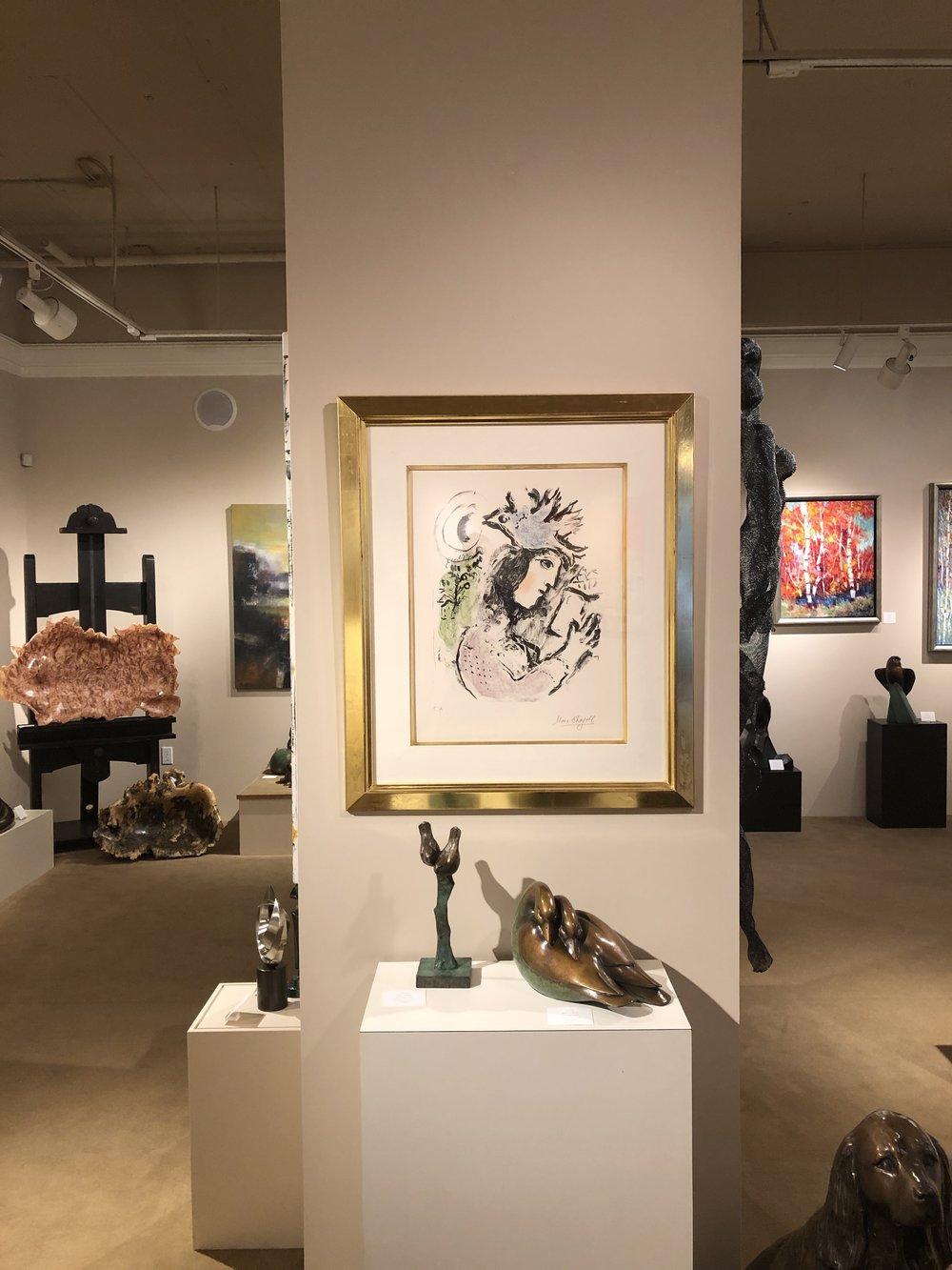 Hanging at Gallery Mack
