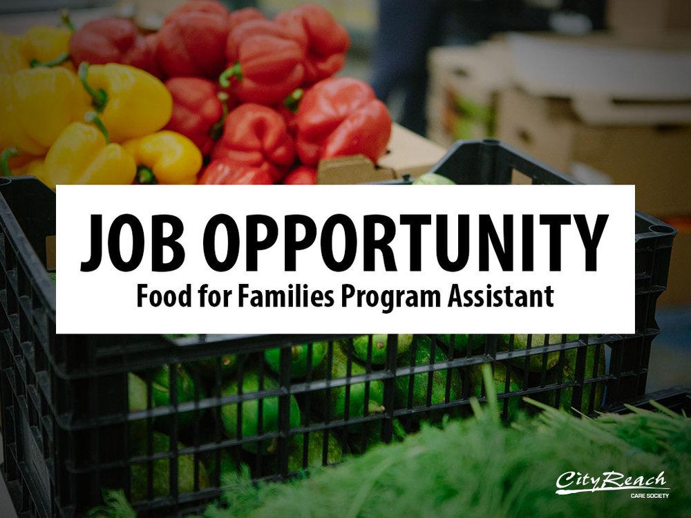 FFF Program Assistant Job Posting 2018 - Website.jpg