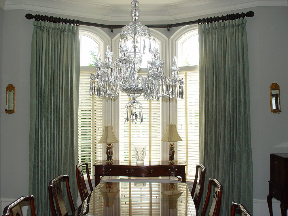 Custom window treatments atlanta custom interiors - Affordable interior design atlanta ...