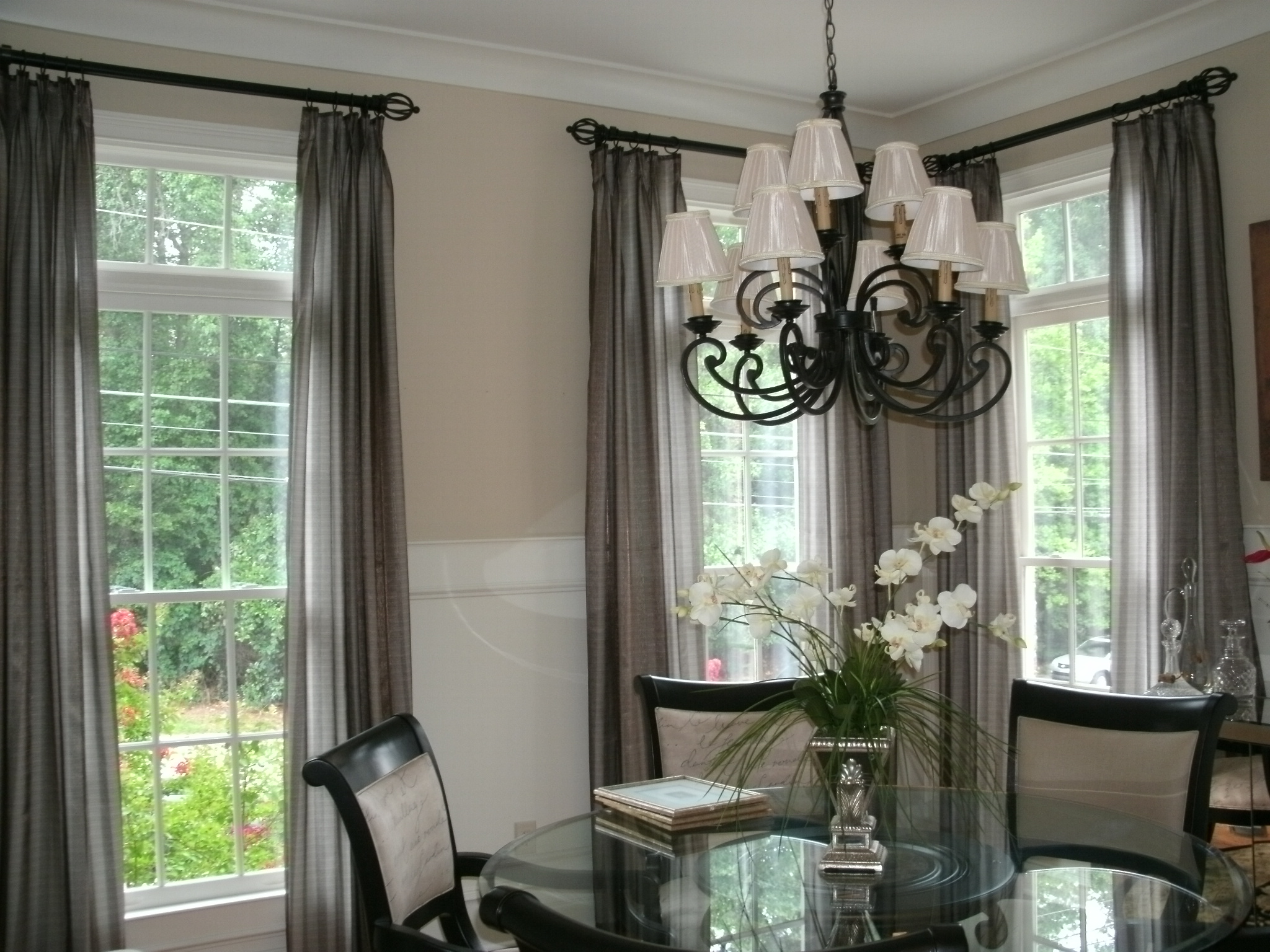 Custom Blinds Drapery Shades Interior Design Atlanta Georgia